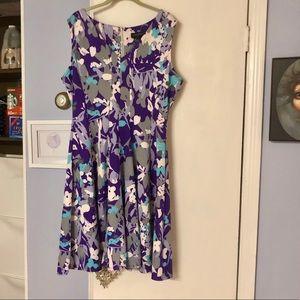 Lane Bryant sz 16 floral dress